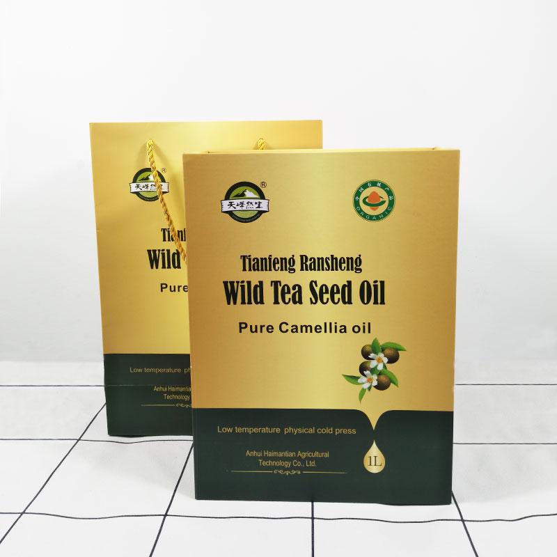 茶油礼盒包装