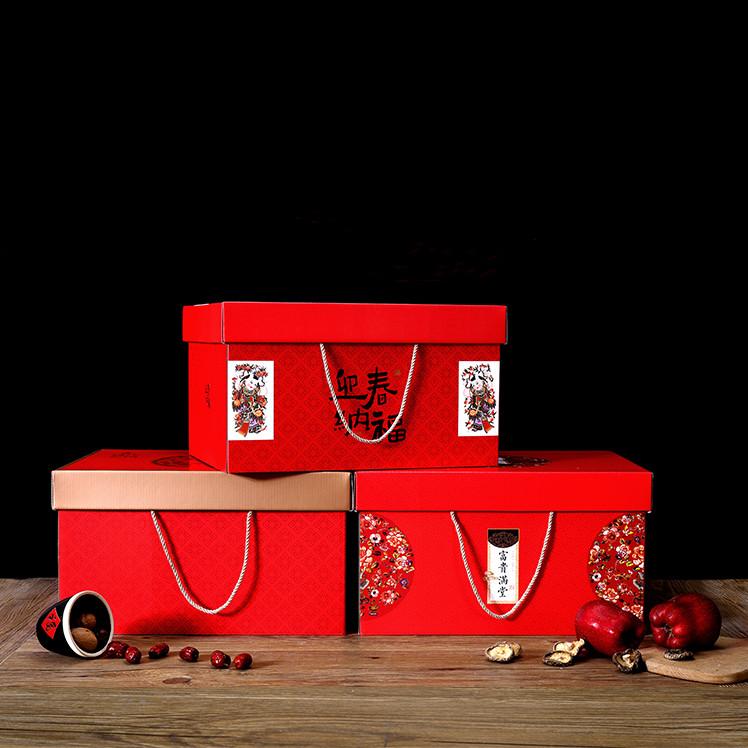 春节礼盒包装